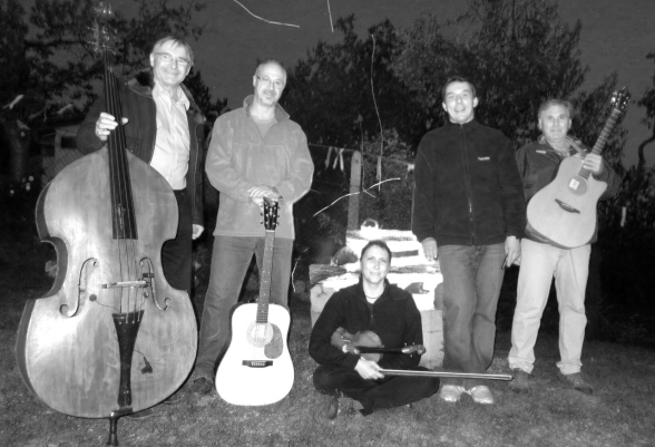 Standaband-foto-kapely